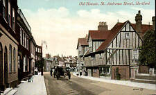 Hertford. Old Houses, St Andrew's Street # 55180 by Valentine's.