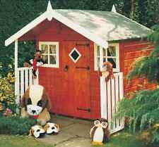 Garden Wooden Shed Playhouse 6' x 4' 1790mm x 1190mm T&G 'Hobby'