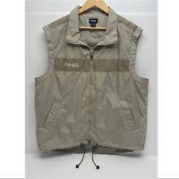 Ping Performance Dynamics Men's Golf Zip Vest, Medium, Blue & Black New w/ Tags