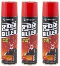 More details for 3x creepy crawly spider spray insect killer eliminating tick pest spiders 200ml