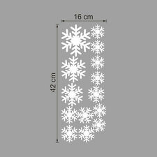 Lovely White Frozen Snowflake Wall Stickers Home Decals Xmas Window Decoration