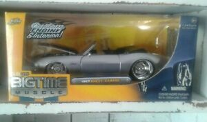 JADA TOYS - 1:24 - '67 CHEVY CAMARO - DUB CITY -BIGTIME MUSCLE - 2005 - Preowned