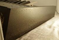 Korg Polysix Wooden Case Analog Synthesizer Meranti Wood Ebony Black Color