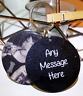 Personalised Photo Keyring - Any Message - Birthday Christmas Present Gift Box