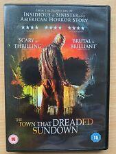Town That Dreaded Sundown DVD 2014 True Life Horror Slasher Thriller Remake USED