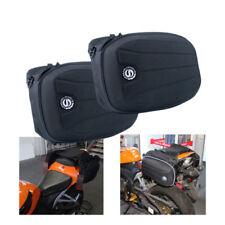 Unbranded Black Motorcycle Saddlebags