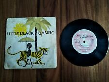 LITTLE BLACK SAMBO EP RECORD CHILDRENS RECORD GUILD OF AUSTRALIA