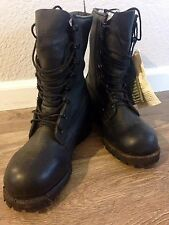 Belleville Men's Black Insulated Leather Gore-Tex Military Combat Boots Size 7.5