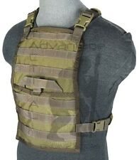 BAE Systems ECLiPSE Foldable Chest Rig MOLLE Platform - MJK khaki