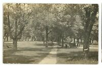 RPPC Park in NEW BERLIN PA Union County Pennsylvania Real Photo Postcard