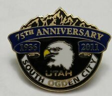 South Ogden City Utah 75th Anniversary(1936-2011) Souvenir Pin LIGHTLY PRE-OWN