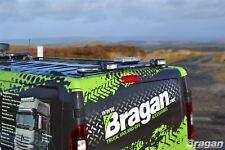 Pour s'Adapter 2014+ Renault trafic en Acier Inoxydable Chrome Arrière toit Light Bar + DEL