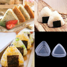1 set Rice Ball Bento Press Maker Mold Triangle Form Mold Sushi MakeSC