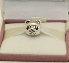 AUTHENTIC PANDORA CHARM Peaceful Panda, Black Enamel, 791745EN16     #171
