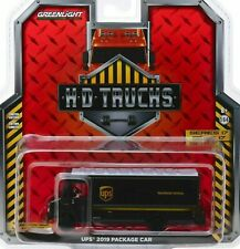 Greenlight 2019 HEAVY DUTY UPS PACKAGE CAR DELIVERY TRUCK -Brown, NEW!