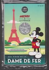 France - Pièce de 10 euros Argent - Mickey - N°1 - Aux pieds de la Dame de Fer