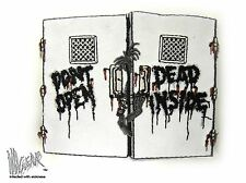 ill Gear Zombie HOOK & LOOP Patch don't open dead inside Apocalypse walking the