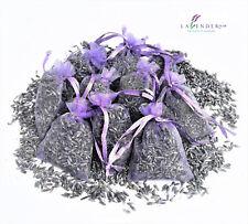 10 Lavender Lilac Bags Sachets Wardrobe Drawer Aromatic Repel Calming Air Fresh