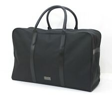 HUGO BOSS MENS BLACK DUFFLE / HOLDALL / GYM / WEEKEND / OVERNIGHT BAG *NEW