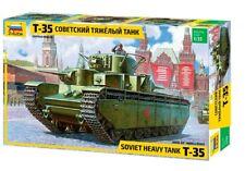 Zvezda 1/35 tanque pesado soviético T-35 # 3667