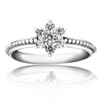 Brand Design Zircon Silver Fashion Woman Wedding Rings New 925 Jewelry Size 5-9