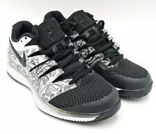 Nwt Nike Air Zoom Vapor X Hc Black Floral Tennis Shoes- Aa8027-103 - Womens-11.5