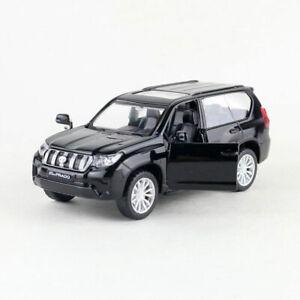 1:42 Toyota Land Cruiser Prado SUV Model Car Diecast Gift Toy Vehicle Kids Black