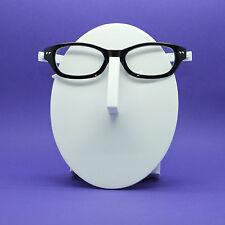 Reading Glasses Eye Fun Flexi Floating Lightweight Black White Frame+3.00 Lens