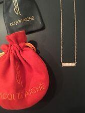Jacquie Aiche Diamond Bar Necklace