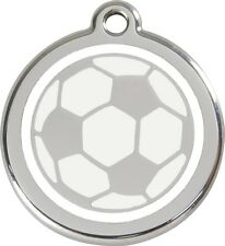 Football Enamel/Solid Stainless Steel Engraved ID Dog/Cat Tag
