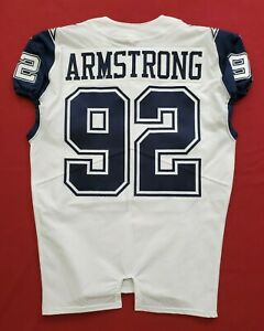 #92 Dorance Armstrong of Dallas Cowboys Color Rush Game Issued Jersey