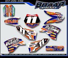 KTM-50 Graphics Decal Kit 2009-2010-2011-2012-2013-2014-2015 Blue