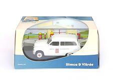VOITURE CAR 1/43 PETITS UTILITAIRES FRANCAIS ATLAS SIMCA 9 VITREE LU EN BOITE