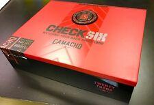 Camacho Check Six Cigar Box Brotherhood Series with Lid Coin, No Cigars