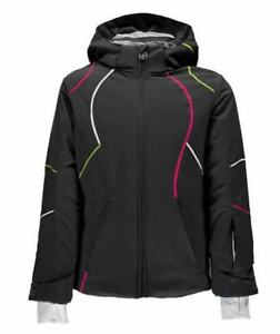 Spyder Girls Tresh Jacket, Ski Snowboarding Winter Jacket, Size 10 (Girl's), NWT