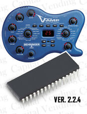 Behringer Vamp 1 Firmware update Eprom Chip version 2.2.4