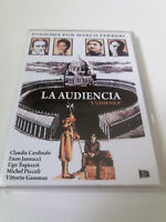 """DVD """"LA AUDIENCIA"""" COMO NUEVO MARCO FERRERI CLAUDIA CARDINALE VITTORIO GASSMAN"""