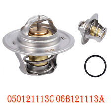 Coolant Thermostat With Gasket 87 °C For AUDI A3 A4  TT VW 050121113C 06B121113A