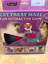 Cat Treat Maze Puzzle spaceship design hours of fun and play