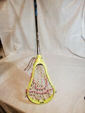 STX AL6000 Lacrosse Playing Stick yellow