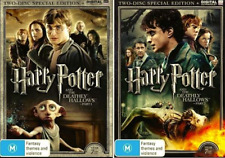 Harry Potter and The DEATHLY HALLOWS Part 1 & 2 Special Edition : NEW DVD