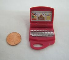 FISHER PRICE Loving Family Dollhouse TWIN TIME LAPTOP COMPUTER Lap Top Opens!