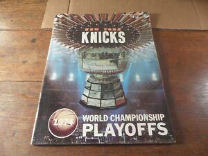 32-A KNICKS vs. Capital Bullets Basketball program 1974  Vol. 7, No. 4