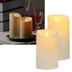 """LED Kerze Outdoor """"BIG TWINKLE"""" mit beweglicher Flamme Timer für Außen Garten"""