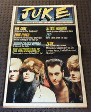 JUKE Australian Music Magazine Oct 3rd 1987 #649 The Cult / Pink Floyd Rare