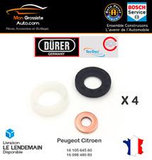 4 x Joints d'injecteur 1,6 HDI Peugeot Citroen Marque Durer Germany