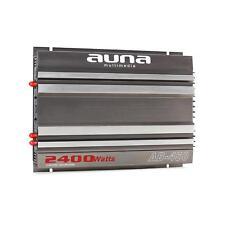 (RICONDIZIONATO) AUNA AMPLIFICATORE 2400W AUDIO 4 2 1 CANALI AUTO CAR HI FI SUB