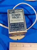 Eldon Slot Car Power Pack Hobby Transformer 3400 1967 Train Toy Model VTG