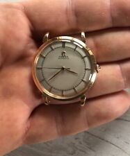 Vintage OMEGA Ref 28.10.RA automatic bumper watch solid 18K rose gold