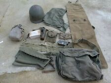 Lot Relic divers US Sac Gourde Guetres Liner Americain etc ... 100 % WW2